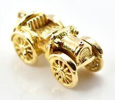 Vintage 9ct Gold Charm - Old Car 3.45g (Hallmarked) 9k 375