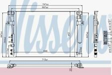 Nissens 940348 AC Kondensator für Chrysler 300c (04