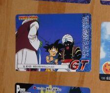 DRAGON BALL GT Z DBZ POWER BATTLE CARD JAPANESE CARTE 10 MADE IN JAPAN 1996 **