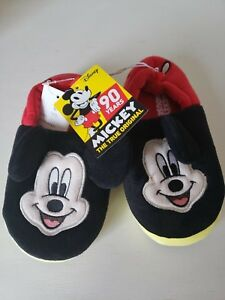 NEW Disney MICKEY MOUSE Slippers with Ears - Kids
