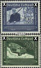 Deutsches Reich 669-670 (kompl.Ausg.) gestempelt 1938 Graf Zeppelin-Luftschiffe