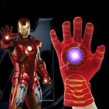 The Avengers Iron Man Hand Gloves with Light + Sound Kid Child Cosplay Gift Toy