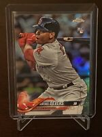 2018 Topps Chrome Rafael Devers Rookie Refractor Boston Red Sox RC SP Mint