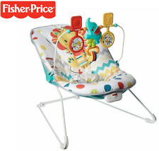 Colourful Carnival Bouncer Baby Rocker Play Center Fun Playtime Bouncing NEW