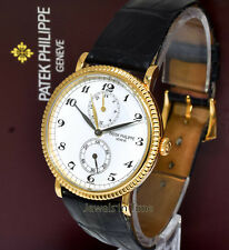 Patek Philippe Travel Time 5034 18K Yellow Gold Mens Watch Box/Papers 5034J