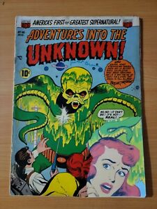 Adventures into the Unknown #46 ~ GOOD GD ~ 1953 ACG Comics