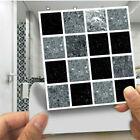 30pcs Kitchen Tile Sticker Bathroom Mosaic Sticker Self-adhesive Wall Home Decor