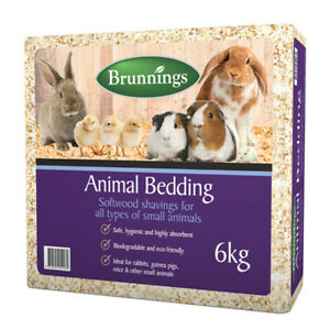 Brunnings Animal Bedding Softwood Shavings 6kg Safe Hygienic highly Absorbent