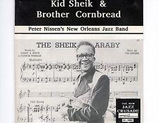 CD KID SHEIK & BROTHER CORNBREAD in copenhagen EX+