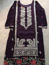 Bollywood Ethnic Designer Indian Punjabi Suit Party Wear Salwar Kameez-M
