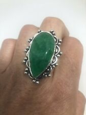 vintage Raw Emerald ring Size 7