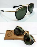 Ray Ban Olympian Sunglasses Vintage BL Olympic Authentic Green rayban case small