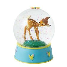 Disney Curious And Playful Bambi  Waterball  Globe Figurine Ornament A27026