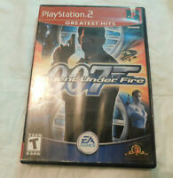 PlayStation 2 -Video Game-(James Bond 007 in Agent Under Fire)