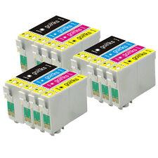 12 Cartuchos de Tinta XL ( SET) para EPSON WORFORCE wf-3620dwf & wf-7610dwf