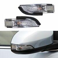 1X(Lámpara Luz de Señal de Giro Indicador de Espejo Lateral Apto Para Toyot 6P4)