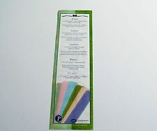 Creative Memories  12 G L Strips Of Printed Vellum Paper~Winter Whimsy NIP/NLA