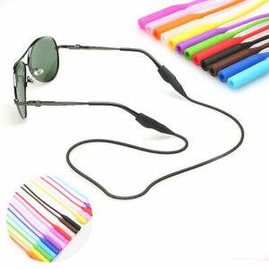 Silicone Glasses Strap Neck Cord Sunglasses Eyeglasses String Lanyard Holder