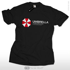 Umbrella Corporation t-shirt for resident gamers zombie evil corp S-3XL