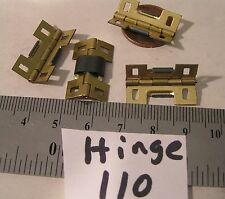 4 Vtg 4 hole Spring Hinge Clamper Bracelet Clasp 22x13mm Jewelry Findings Repair