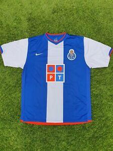 FC Porto 2006/2007 Home Nike Retro XL Football Shirt Top Jersey Retro