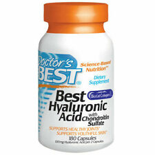 Doctor's Best - Best Hyaluronic Acid with Chondroitin Sulfate, 180 Capsules