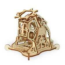 WOOD TRICK Building WHEEL OF FORTUNE  Mechanical Model 3D Wooden Puzzle
