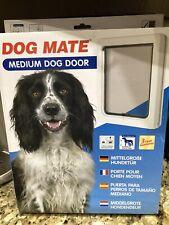 New ListingDog Mate Medium Dog / Cat / Pet Door Ref: 215W - New - Open Box