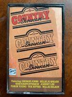 Country Showcase Vol.1 Music Audio Cassette Tape