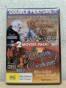 RISE OF CATHERINE THE GREAT + THE PHANTOM OF CRESTWOOD - DVD