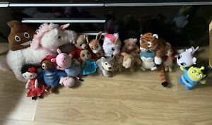 Bundle Of Soft Toys, Unicorns, George Peppa Pig, Toystory