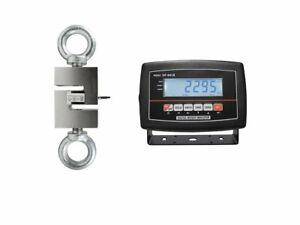 OPTIMA OP-926 Hanging Scale ( S-Type) LCD 2000 lb x 0.2 lb