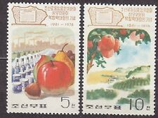 KOREA Pn. 1976 mint(*) SC#1441/42 set, Pukchong Conference, 15th Ann.