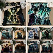 Size Single Double King Harry Bed Potter Duvet Cover Bedding Set Pillowcase