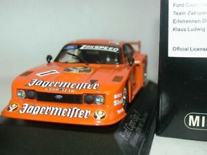 WOW EXTREMELY RARE Ford Capri MkIII Gr5 #1 Jager Ludwig DRM 1982 1:43 Minichamps