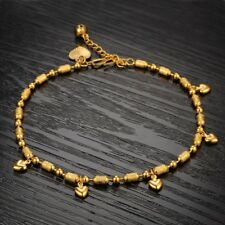 CIFBUY Handmade Charming Europe Style Anklets Gold Color Adjustable Ankle Chain