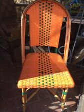 Chaise scoubidou ( style Bistrot )