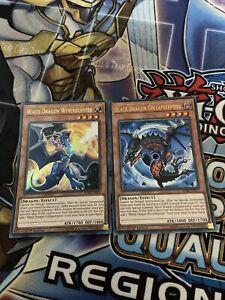 Yu-Gi-Oh Ultra Black Dragon Collapserpent + White Dragon Wyverburster BLHR (NM)