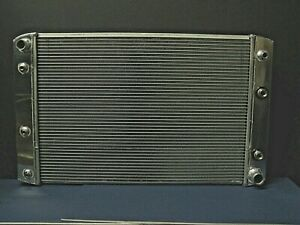 Chevy GMC Motor home RV Radiator with Engine oil cooler all aluminum all welded