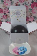 Geschlecht verraten Confetti Lutballon Pop Box Baby Mädchen/Junge Baby Taufe