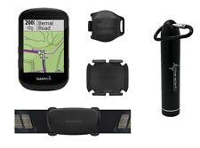 Garmin Edge 530 GPS Cycling Computer w Power Bank 2200mAh (Sensor Bundle)
