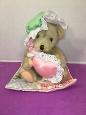 "VGUC-VINTAGE-8"" 1994 Dakin Cherished Teddies Plush Friendship Nighttime Nap Time"