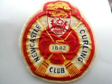 Newcastle Curling Club 1882 Curling  Patch