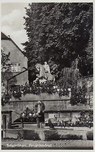 Ansichtskarte Baden Württemberg - Holzgerlingen Kriegerdenkmal 1940