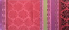 DESIGNERS GUILD Perrault Red Pink Silk Damask India New Remnant