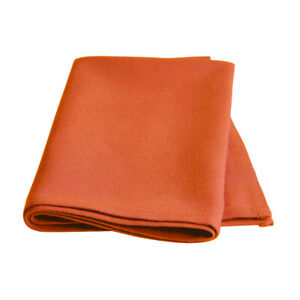 6 X Cotton Polyester Napkins Soft Fabric Washable and Reusable, COLOR ORANGE