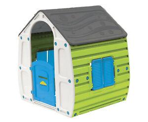 Spielhaus Magical für Kinder Gartenhaus Kinderspielhaus 102x90x109 cm für Kinder