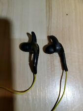 Sennheiser OMX 680 Ear-Hook Headphones - Black/Yellow. Tested sound great.