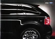2010 10 Ford Edge  original sales brochure MINT
