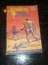 ANALOG : SCIENCE FACT SCIENCE FICTION - Vol XVIII No 1 - 01/1962 UK Edition